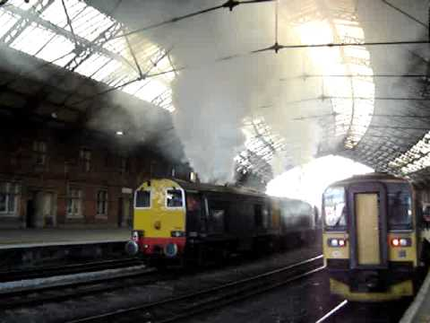 20305 & 20302 start up at Bristol T.M and produce some mega clagg
