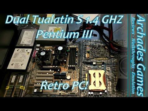 Pentium III Retro PC Build! Dual 1.4 Tualatins!