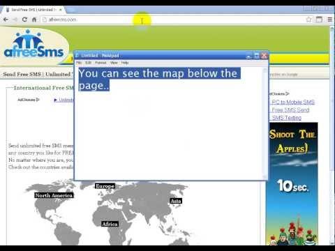 Send Free Sms World Wide
