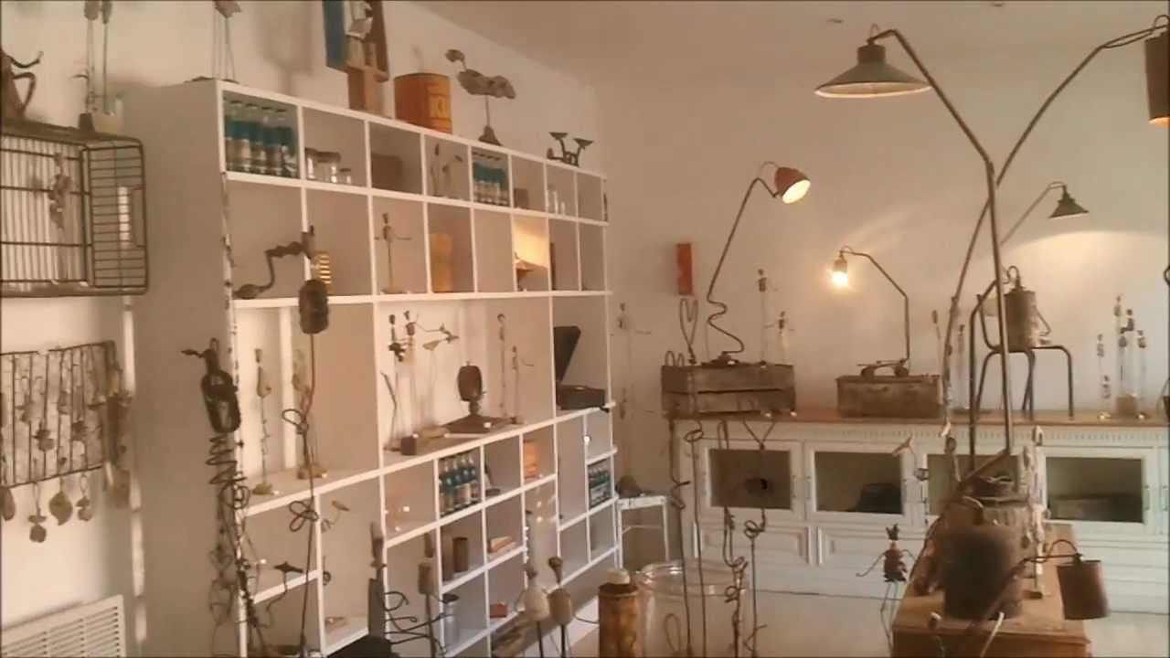 Magasin Art Et D Coration Atelier Bois D 39 Ame Youtube