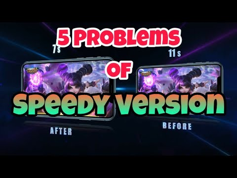 5 Problems Of Speedy Version Of Mobile Legends | Mobile Legends BangBang