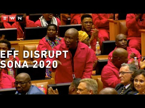 'De Klerk Is An Apartheid Apologist'- EFF Disrupts Sona