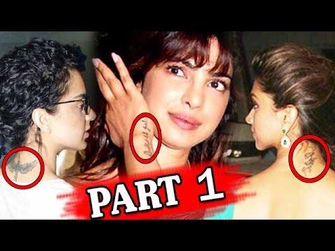 Bollywood Stars & The Secret Behind Their Tattoos - Part 1 thumbnail