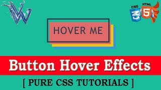 Triple Layered Button Hover Effect CSS 2018 | Cool Css Effects | Pure Css Tutorial
