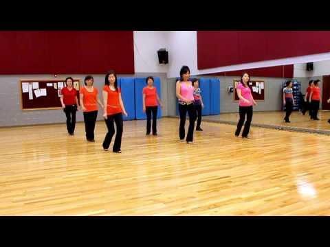 Beginner Rock - Line Dance (Dance & Teach in English & 中文)