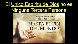 El Señor Dios y su Espíritu - El Único Espíritu de Dios no es Ninguna Tercera Persona Divina
