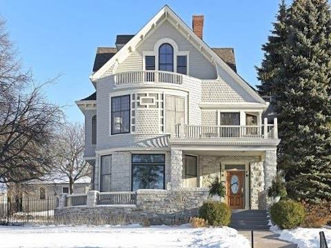 Modern with Victorian Style Residence in Minneapolis, Minnesota