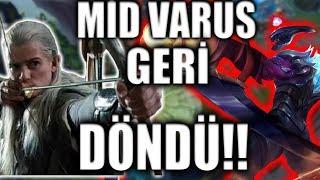 MİD VARUS GERİ DÖNDÜ ! - Q larla Efsane Killer İçerir - League of Legends