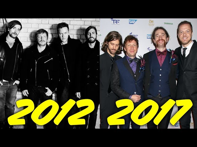 The Evolution of Imagine Dragons (2012-2017)