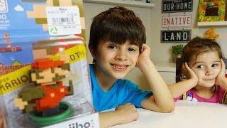 Amiibo do MARIO 8 BITS Edição Especial de 30 Anos - UNBOXING Nintendo