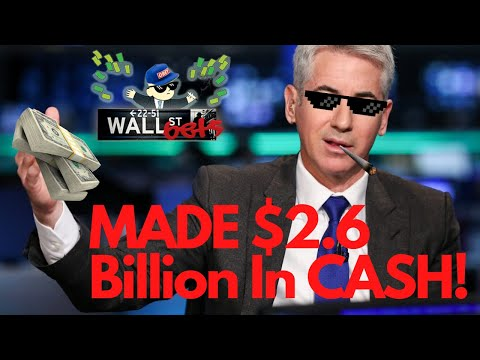 Wallstreetbets Honoree Bill Ackman Making $2.6 Billion (Shorting The Stock Market Within A Month)