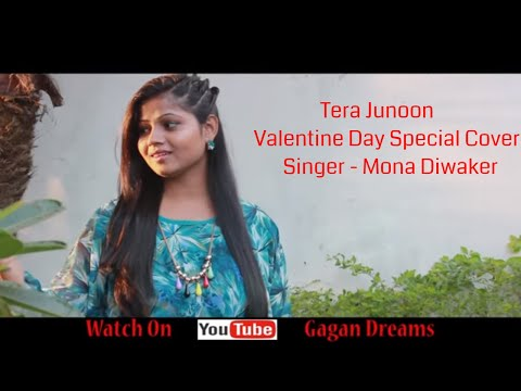 Tera Junoon From | Machine | Female Version Cover By Mona Diwaker