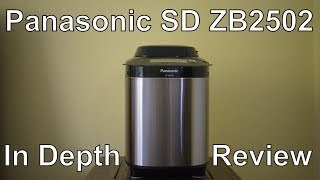 Review Panasonic SD ZB2502 BXC - Fresh bread the easy way!