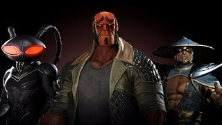 Injustice 2 - Introducing Hellboy! New Gameplay Trailer (2017) PS4 / Xbox One
