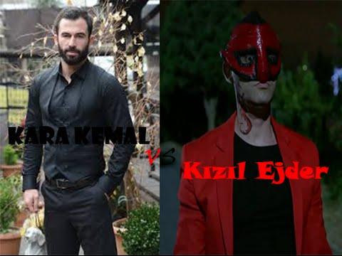 Kertenkele 70. Bölüm Kara Kemal ile Kızıl Ejder Dövüş Sahnesi