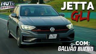 Novo Volkswagen Jetta GLI 2020 em Interlagos com Galvão Bueno | Auto Esporte