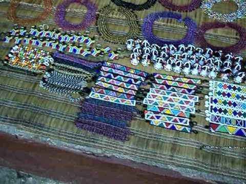 Project UHURU: Lesedi Cultural Village hand crafts and live musicians