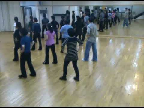 Totoy Bibo - Line Dance (Demo & Walk Through)