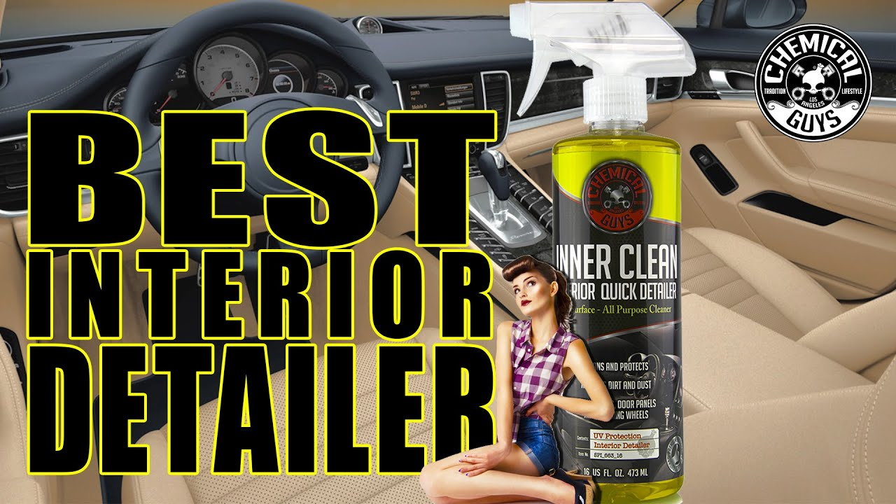 best interior detailer innerclean chemical guys youtube. Black Bedroom Furniture Sets. Home Design Ideas