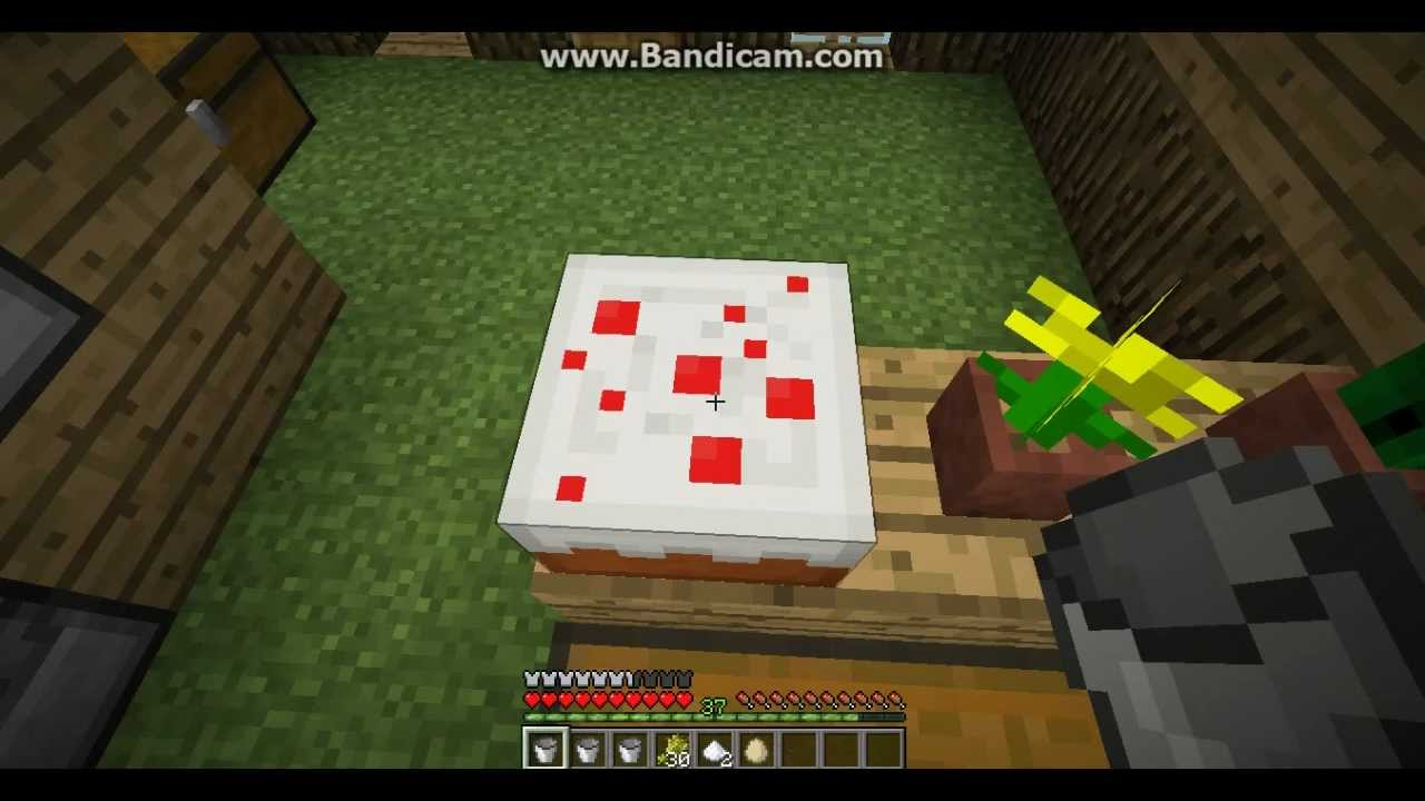 How Do I Make A Minecraft Cake