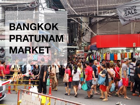 Bangkok Pratunam Market
