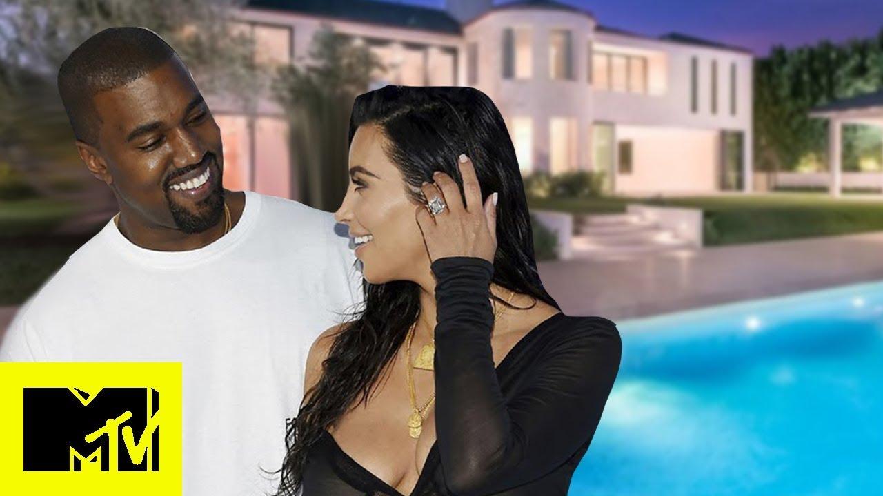 Kim Kardashian Gives A Tour Of Her & Kanye West's Unique House | MTV Celeb