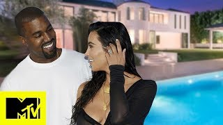 Kim Kardashian Gives A Tour Of Her & Kanye West
