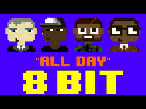 All Day (8 Bit Cover) [Tribute to Kanye West ft. Theophilus London Allan Kingdom & Paul McCartney]