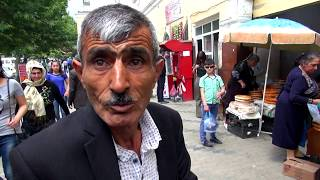 Азербайджан своим ходом. Цены на рынке. Покупаем фрукты дешево. Цены на еду. Город Гянджа