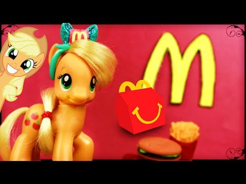 Applejack Works at MCDONALDS!