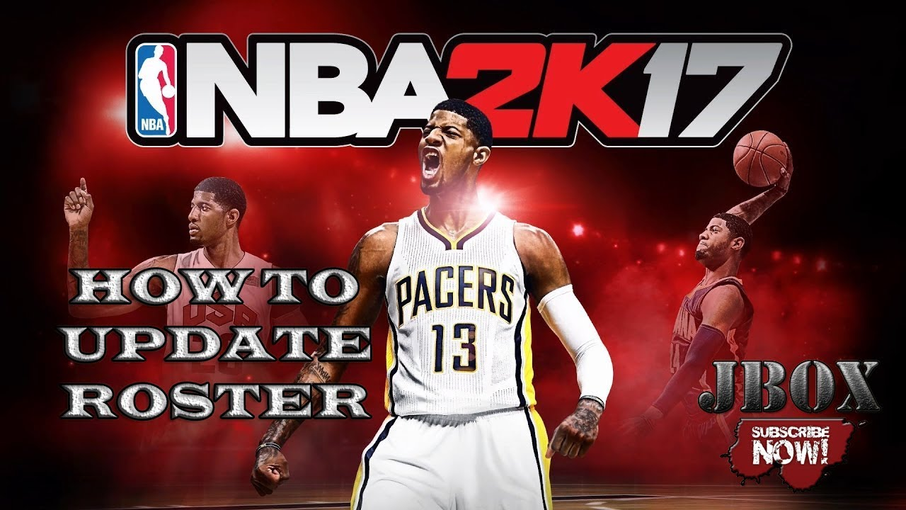 How to update NBA 2k17 Latest Roster in less than a minute CODEX