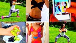 Summer Fitness/ Weight Loss Routine   Get Bikini Body Ready - Motivation, Snacks, Workouts!