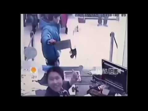 Worst Bank Robber Ever, Korean Drama Gives Woman Heart Attack - Dumpling News