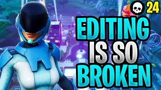 Editing Is SO BROKEN In Fortnite! Here's Why... (Fortnite Battle Royale - Editing Glitches)