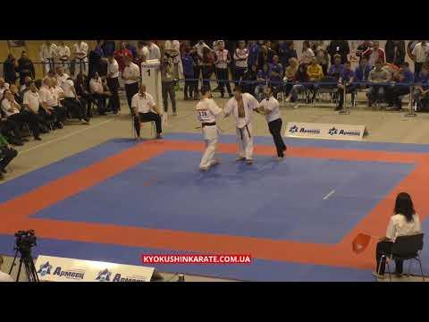 2nd KWU EC, 1/2 -90kg, Artem Lialikov (Russia) - Dominykas Juskevicius (Lithuania, aka)