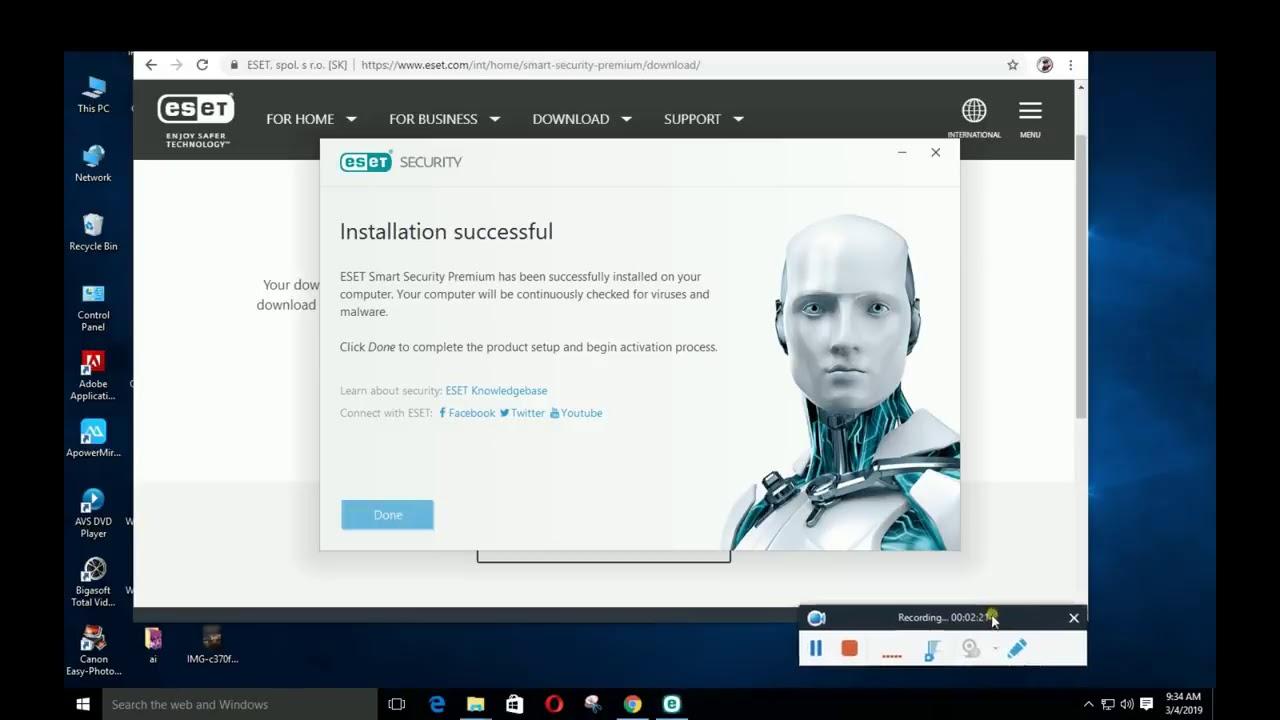 Eset Nod32 Antivirus Licenses key 2019-2020-2021-100% ...