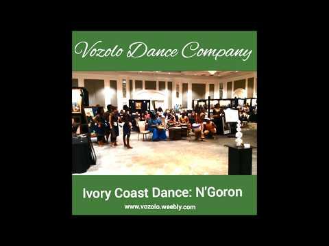 Vozolo Dance Company - Four Seasons Hotel: N'Goron Dance from Ivory Coast, West Africa