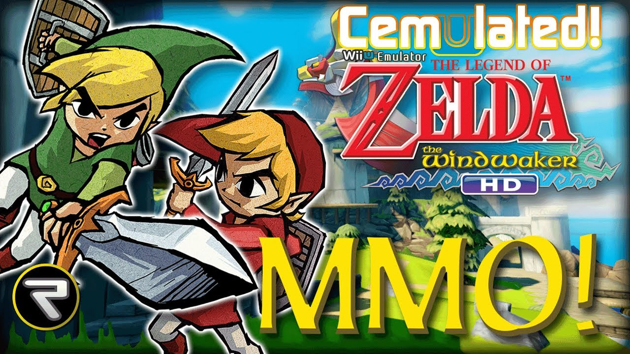 A MMO Version of The Legend of Zelda The Wind Waker is in