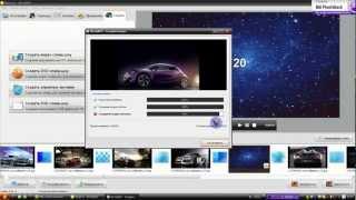 как сделать видео из фото с помощью  фотошоу.avi(Скачать программу фото шоу можно здесь http://fotoshow.su/, 2012-07-22T08:52:56.000Z)