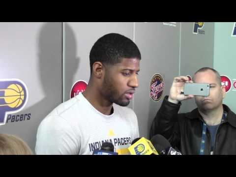 """PG on Leg Injury: """"Today Feels Better than Yesterday"""""""