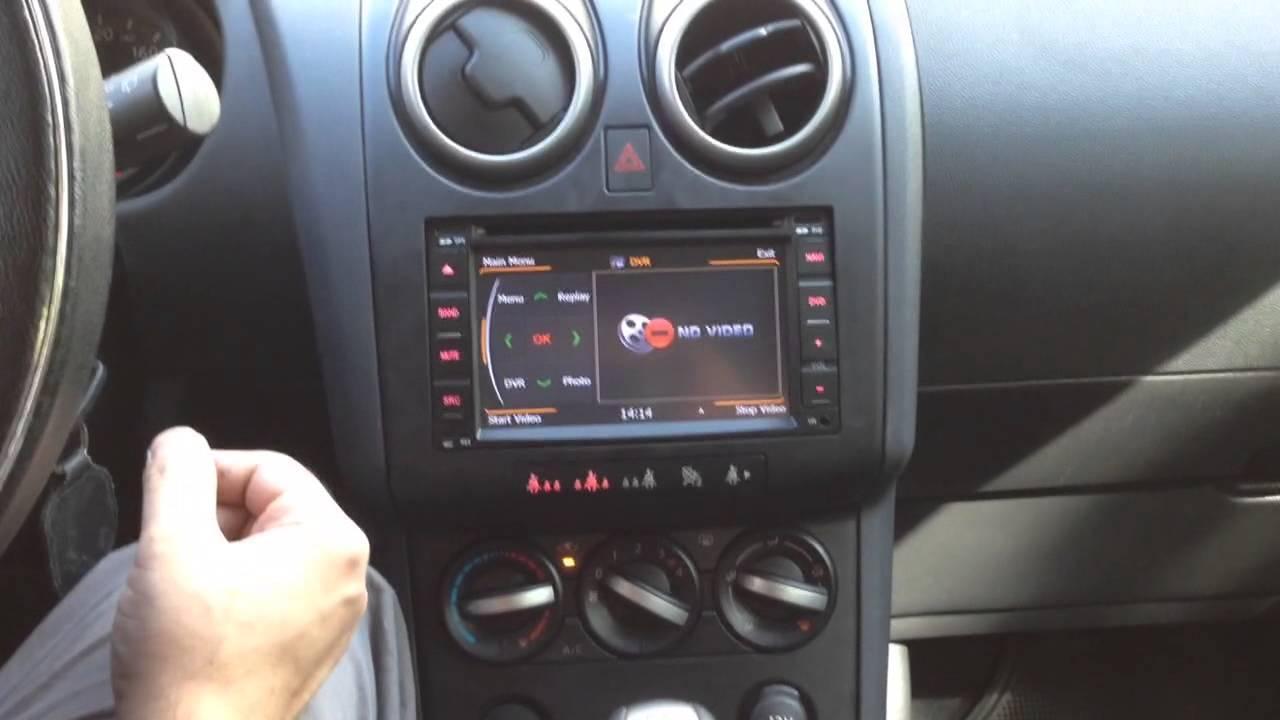 Nissan Qashqai Navara Bilstereo Montering