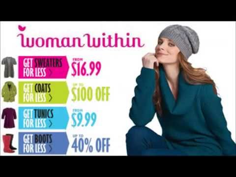 Woman Within Promo Code - Save upto 50% with Woman Within Promo Codes