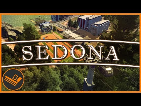 Sedona - Part 28 | CABLE CARS (Cities: Skylines)