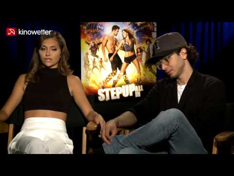 Interview Alyson Stoner & Adam G. Sevani STEP UP ALL IN
