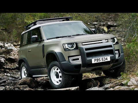 FIRST LOOK: New Land Rover Defender | Top Gear