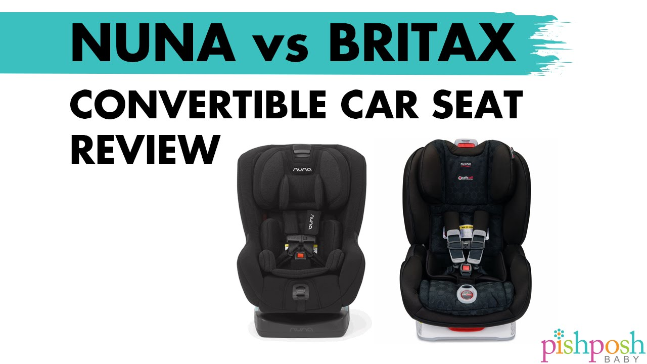 Nuna Rava Vs Britax ClickTight Comparison