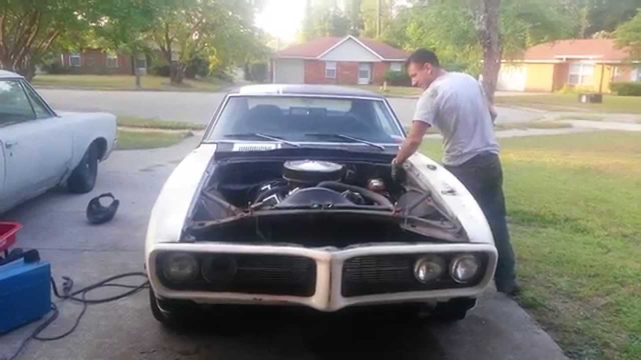 new fenders for the 68 firebird
