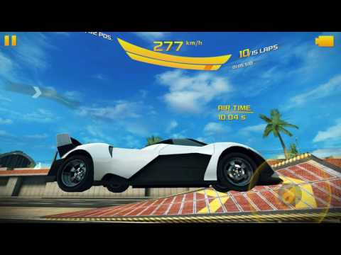 Asphalt 8 Challenges: Do as many stunts and glitches as possible!