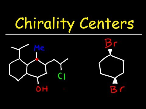 Finding Chirality Centers