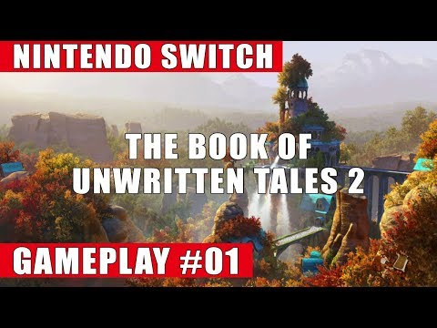 The Book Of Unwritten Tales 2 Nintendo Switch Gameplay #1 | Beginning Of The Adventure